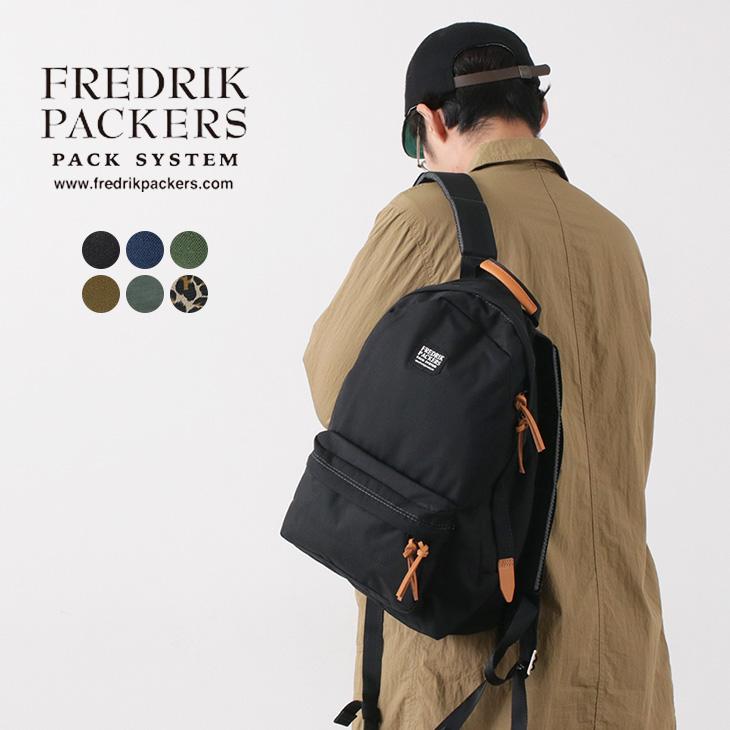 【期間限定!クーポンで10%OFF】FREDRIK PACKERS(フレドリックパッカーズ) デイパック / バックパック / リュック / メンズ レディース / 700042467 / 日本製 / 500D DAY PACK