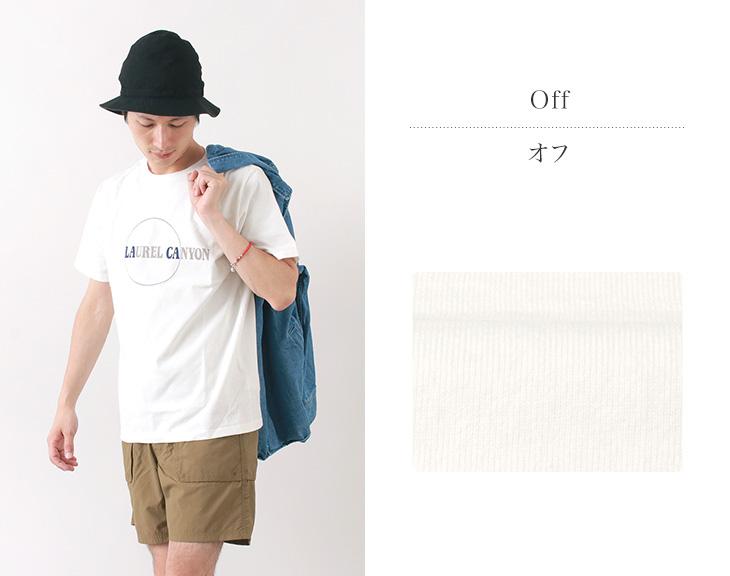 【30%OFF】CAL O LINE(キャルオーライン) ローレルキャニオン Tシャツ / 半袖 プリント / メンズ / 日本製 / LAUREL CANYON T-SHIRT【セール】