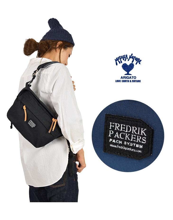 【期間限定!クーポンで10%OFF】【20%OFF】FREDRIK PACKERS(フレドリックパッカーズ) ファニーパック / ショルダーバッグ / ミニショルダー / メンズ レディース / 700042470 / 日本製 / 500D FUNY PACK【セール】