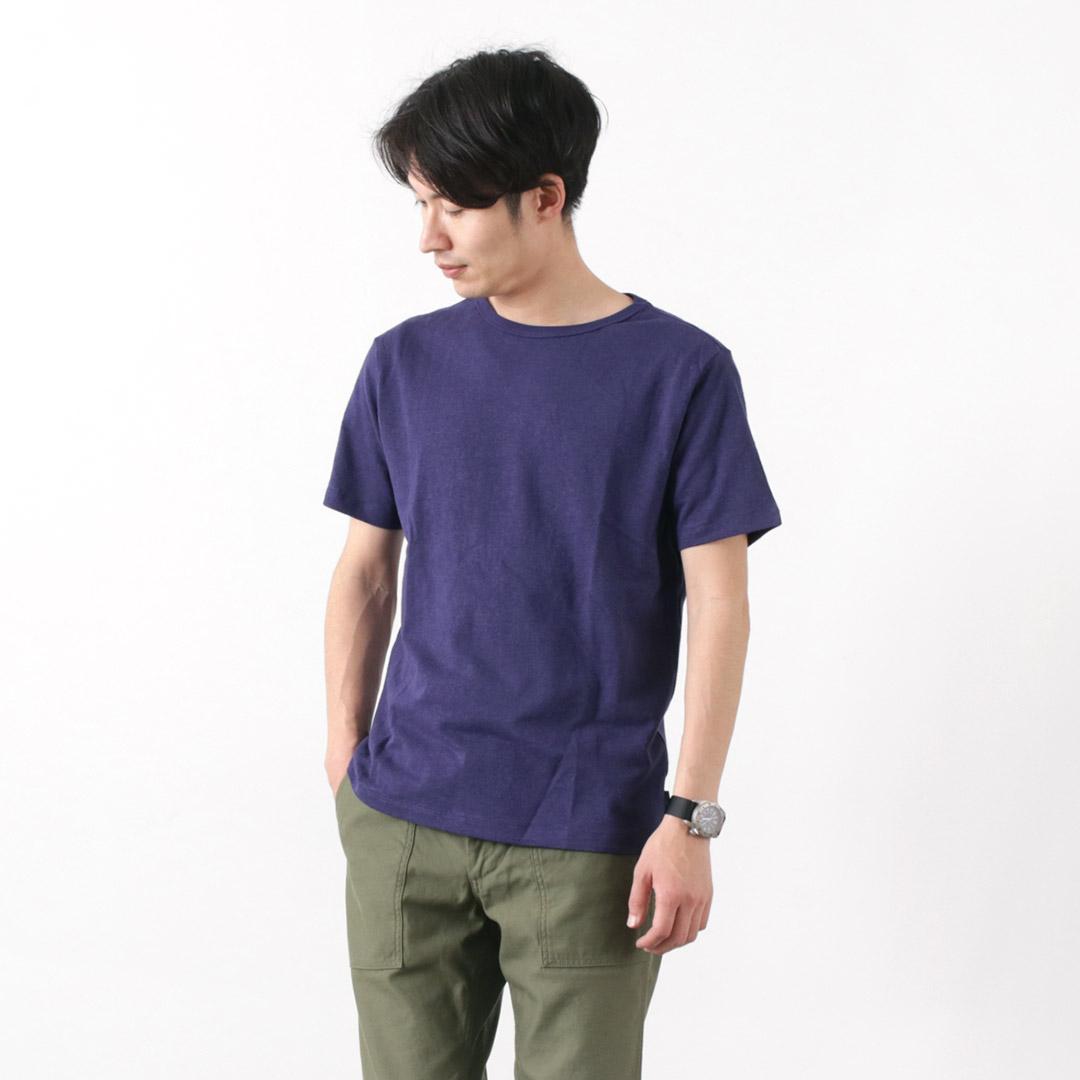 GOHEMP(ゴーヘンプ) ヘンプコットン ベーシック ショートスリーブ Tシャツ / 半袖 / メンズ / 無地 / BASIC S/SL TEE