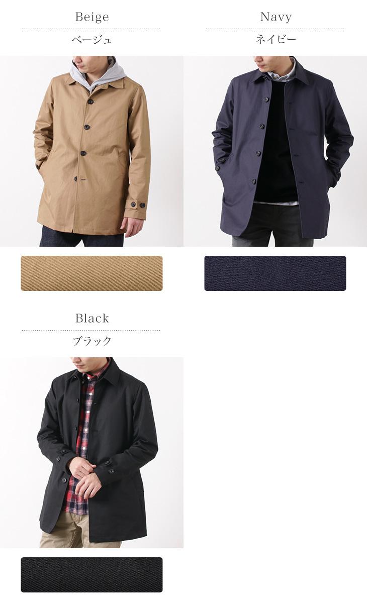 ROCOCO(ロココ) ベンタイル ショートバルカラーコート / ステンカラーコート / メンズ / 日本製