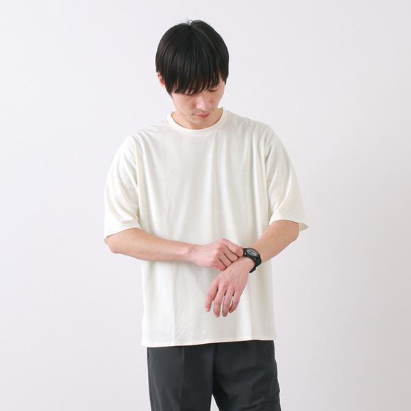 DESCENTE PAUSE(デサントポーズ) ゼロシーム ビッグ Tシャツ / 半袖 無地 / メンズ / ZEROSEAM BIG T-SHIRT / DLMNJA56