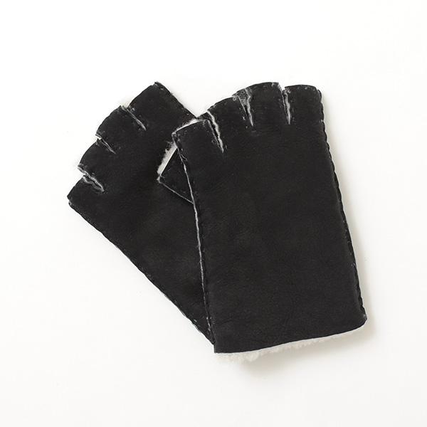 【期間限定!クーポンで10%OFF】GLENCROFT(グレンクロフト) AV フィンガーレス グローブ / 手袋 / 指なし / ムートン / AV FINGERLESS GLOVES