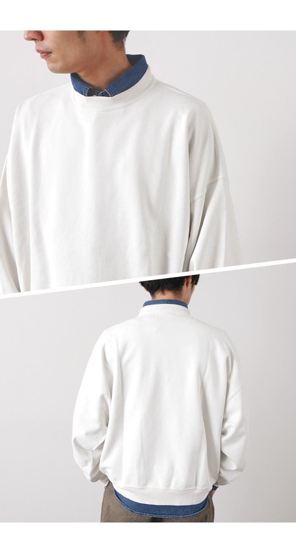【期間限定!クーポンで10%OFF】REMI RELIEF(レミレリーフ) SP加工裏毛 BIGサイズクルー / スウェット / プルオーバー / メンズ / 日本製