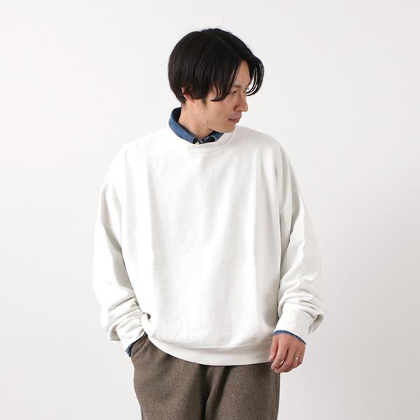 REMI RELIEF(レミレリーフ) SP加工裏毛 BIGサイズクルー / スウェット / プルオーバー / メンズ / 日本製