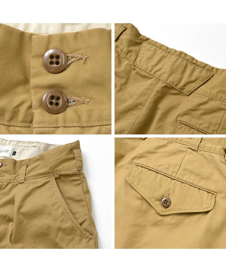 【期間限定!クーポンで10%OFF】CAL O LINE(キャルオーライン) マウンテン パンツ / メンズ / ワイド / テーパード / 日本製 / CL192-102 / MOUNTAIN PANTS