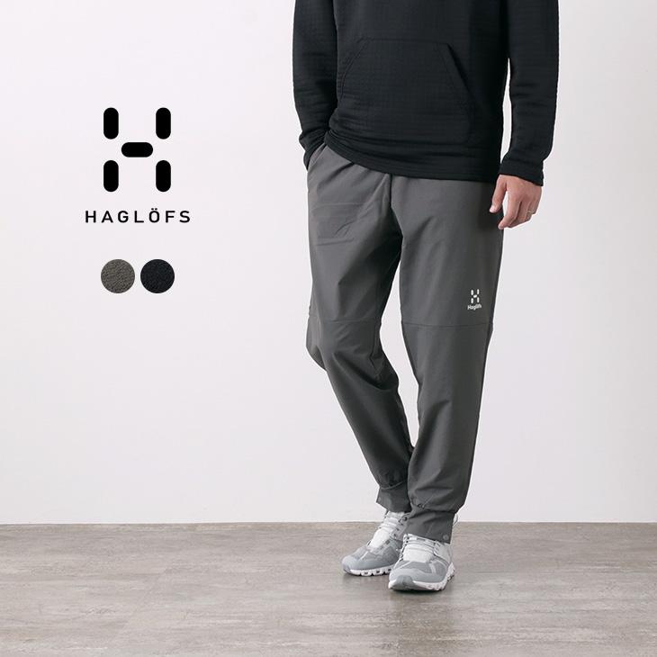 HAGLOFS(ホグロフス) ソフトシェル トラックパンツ / 薄手 軽量 / アウトドア / SOFT SHELL TRACK PANT MEN