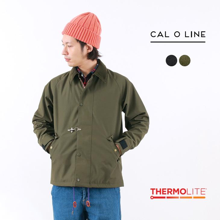 【40%OFF】CAL O LINE(キャルオーライン) アーバン コーチジャケット / サーモライトフリース / メンズ / 日本製 / URBAN COACH JACKET【セール】