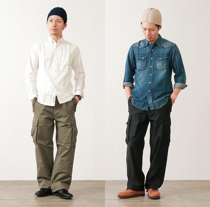 【50%OFF】Depsea(デプシー) DP002 6Pカーゴパンツ / ミリタリーパンツ / ワークパンツ / メンズ / 日本製 / CARGAISON CARGO PANTS【セール】