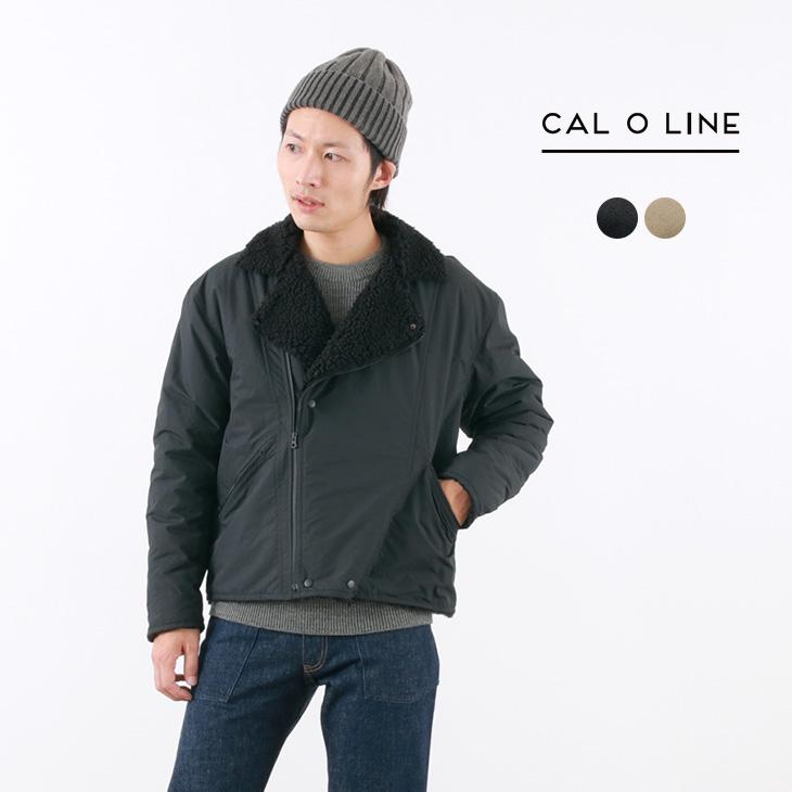 【70%OFF】CAL O LINE(キャルオーライン) ボア ライダース ジャケット / ダブル / ショート丈 / 裏ボア フリースジャケット / メンズ / 日本製 / BOA RIDERS【セール】