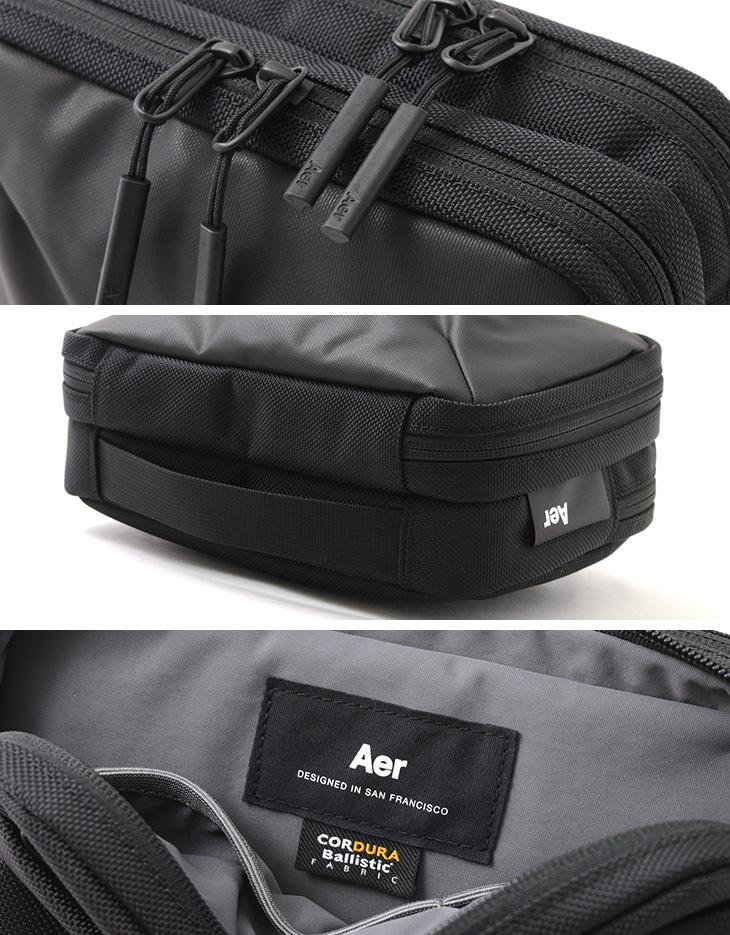 【期間限定!クーポンで10%OFF】AER(エアー) ケーブル キット 2 / メンズ / ポーチ / モバイル ガジェット / WORK COLLECTION / CABLE KIT 2