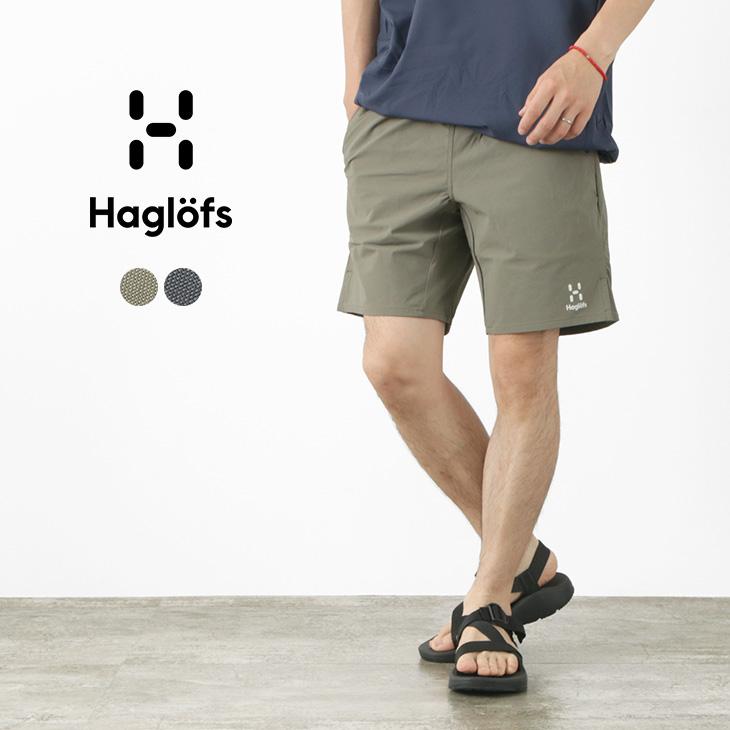 【期間限定!クーポンで10%OFF】HAGLOFS(ホグロフス) 2WAYストレッチ ソフトシェル ショーツ / メンズ / 撥水 / 薄手 軽量 / ストレッチ / アウトドア / ショートパンツ / 021119 / SOFT SHELL SHORTS
