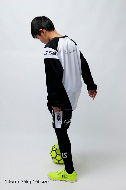 LUZ e SOMBRA/ルースイソンブラ Jr DIAGONAL LONG PRA-SHIRT
