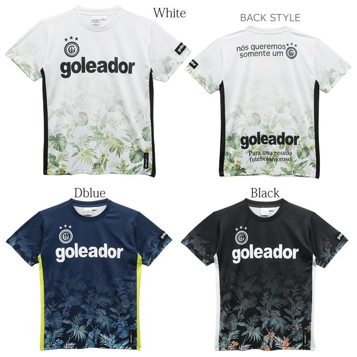 goleador/ゴレアドール フラワーグラデーションプラシャツ