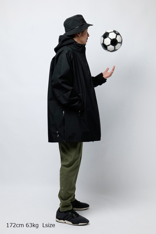 LUZ e SOMBRA/ルースイソンブラ Futebol Seekerz 3layer Coat