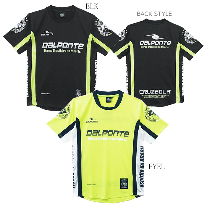 DalPonte/ダウポンチ メッシュライトプラクティスシャツ