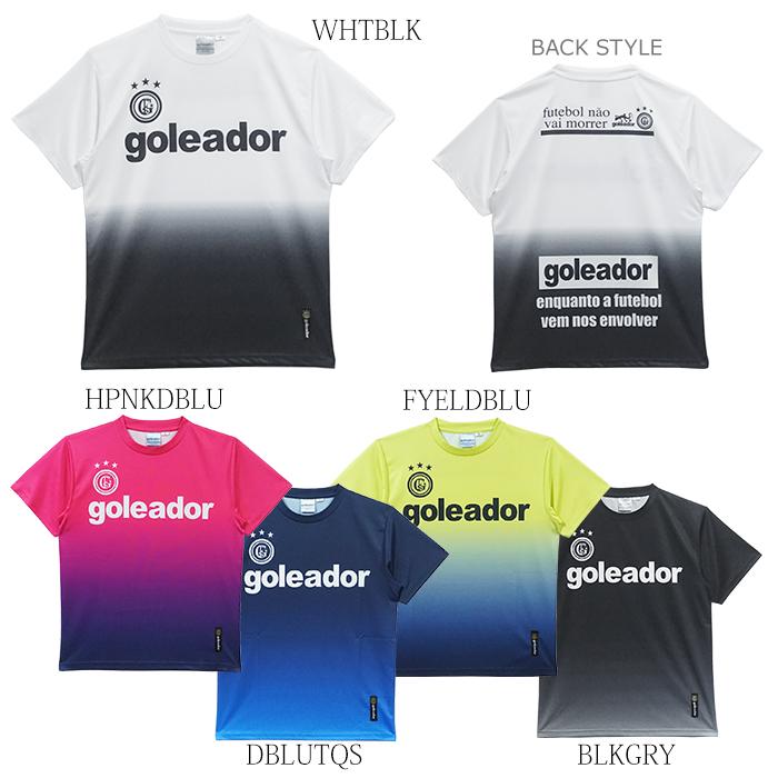 goleador/ゴレアドール 昇華グラデーションプリントBasicプラTシャツ