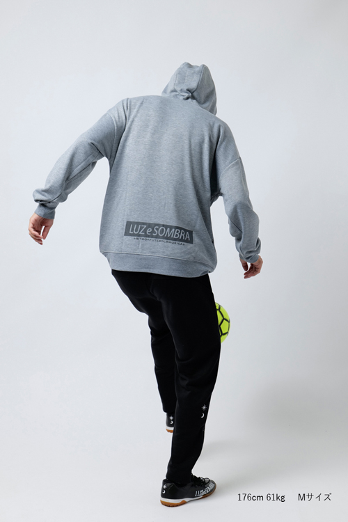 LUZeSOMBRA/ルースイソンブラ P100 STRETCH SWEAT PULLOVER PARKA