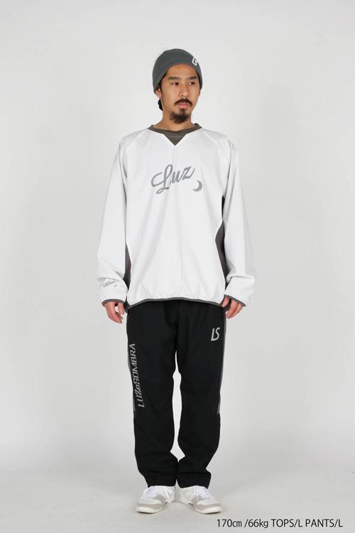 LUZeSOMBRA/ルースイソンブラ STRETCH TAFTA MESH LONG PANTS