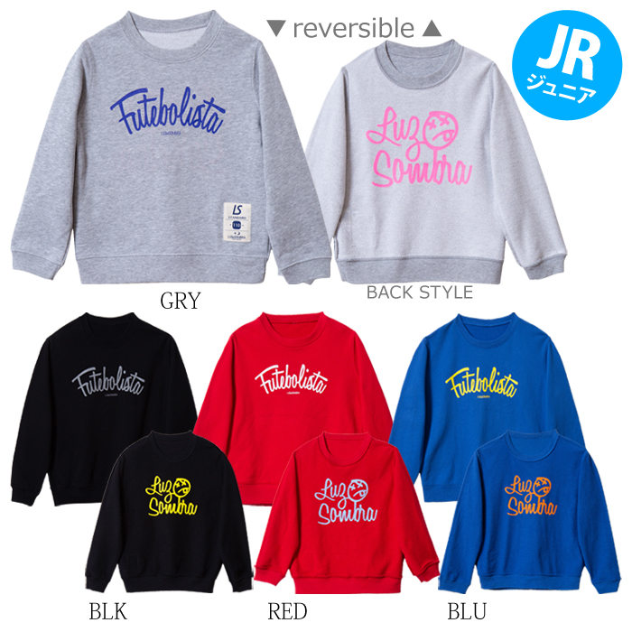 LUZ e SOMBRA/ルースイソンブラ Jr CREATIVE CREW SWEAT TOP