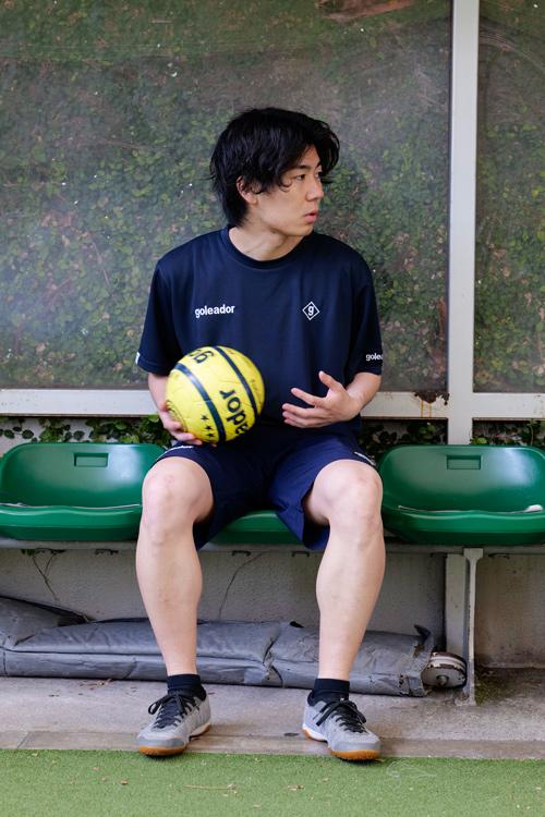 goleador/ゴレアドール 鹿の子ビッグプラクティスTシャツ