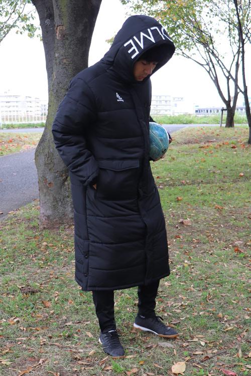 SVOLME/スボルメ ロゴ発熱中綿ベンチコート