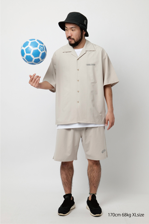 LUZ e SOMBRA/ルースイソンブラ Futebol Seekerz Primeflex ALOHA shirts O1211300
