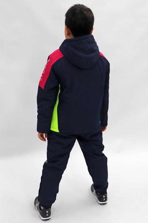 SVOLME/スボルメ Jr 中綿フーディー