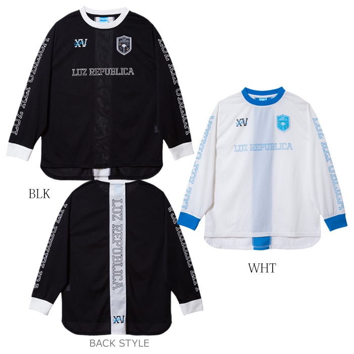 LUZ e SOMBRA/ルースイソンブラ LUZ REPUBLICA MESH LONG SLEEVE