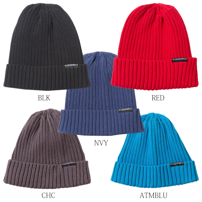 LUZ e SOMBRA/ルースイソンブラ LIGHT TOUCH KNIT HAT