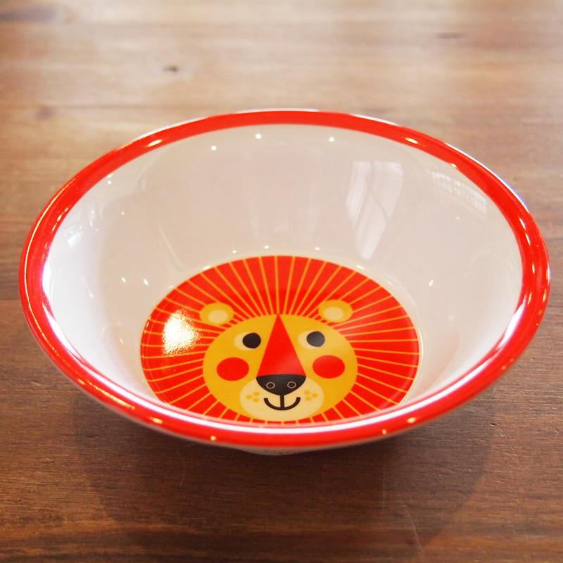 スウェーデン OMM-design インゲラ・アリアニウス メラミンボウル Lion ライオン
