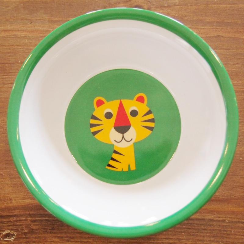 スウェーデン OMM-design インゲラ・アリアニウス メラミンボウル Tiger トラ