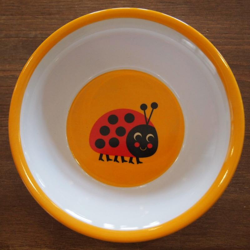 スウェーデン OMM-design インゲラ・アリアニウス メラミンボウル Ladybug  てんとうむし