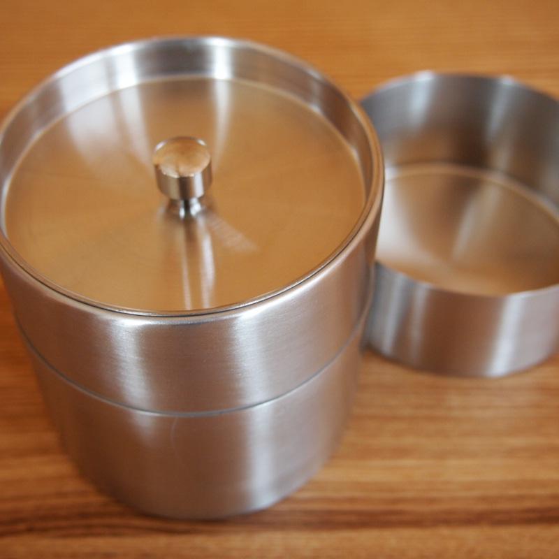 ステンレス 茶筒