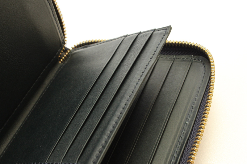 """chapllin チャップリン ウォレット""""ELEPHANT LEATHER WALLET"""" CPW-FLAM-EL-NOITE"""