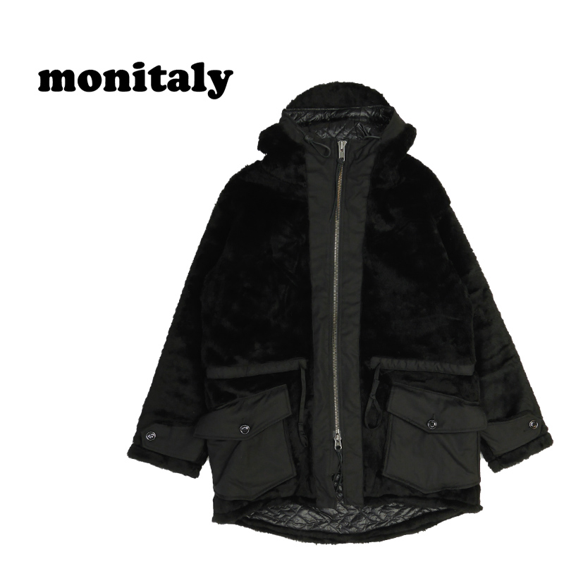 "MONITALY モニタリー ジャケット ""KODIC FUR COAT"" M26004"