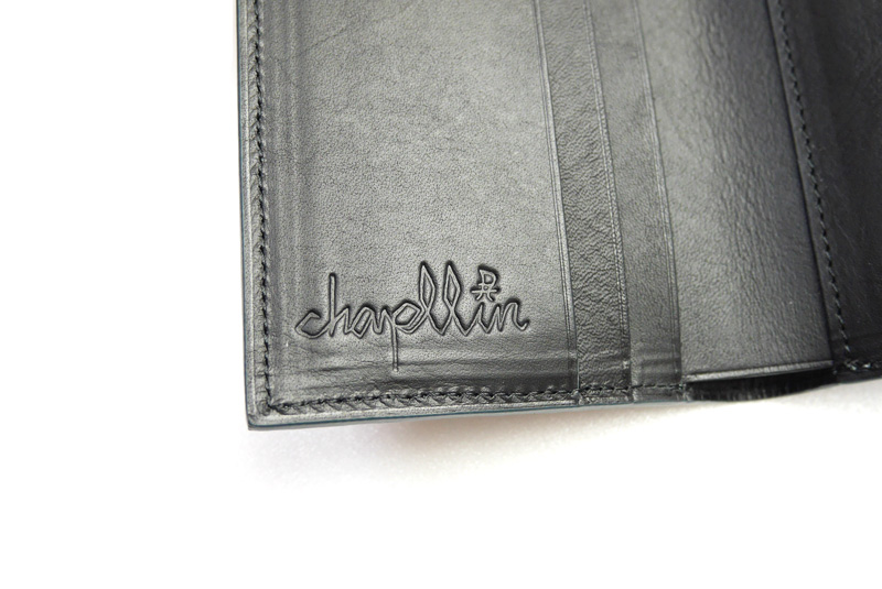 "chapllin チャップリン ウォレット ""Coinless Wallet"" CPW-SMT-EL-FOLA"