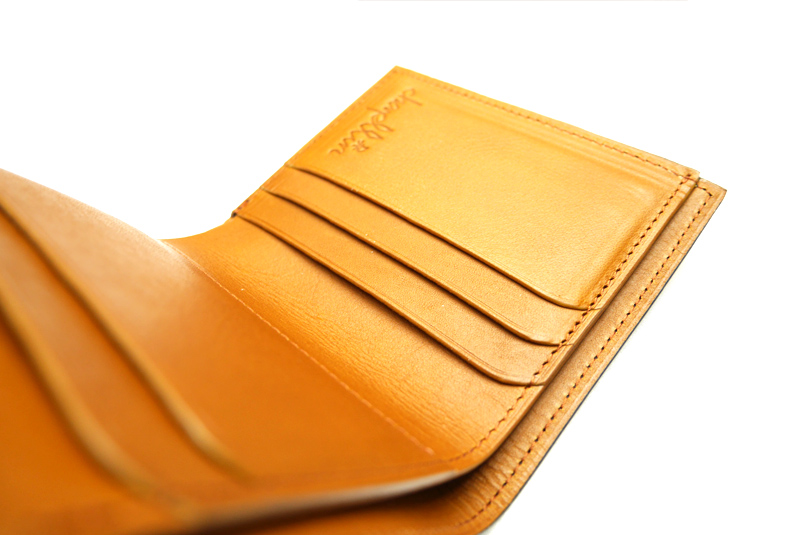 """chapllin チャップリン ウォレット BRIDLE LEATHER """"Coinless Wallet"""" CPW-SMT-BRIDLE-BR"""