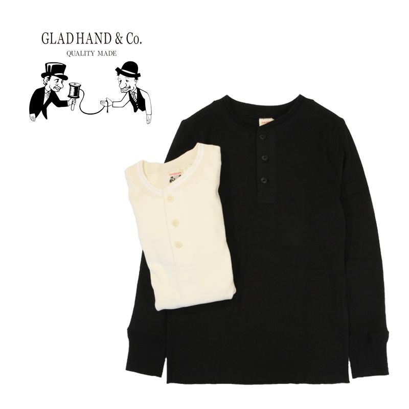 "GLAD HAND グラッドハンド Tシャツ""THICK HENRY L/S T-SHIRTS"" GLAD HAND-19"