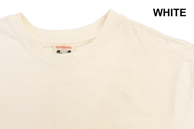 "GLAD HAND グラッドハンド Tシャツ""STANDARD POCKET L/S T-SHIRTS"" GLAD HAND-25"