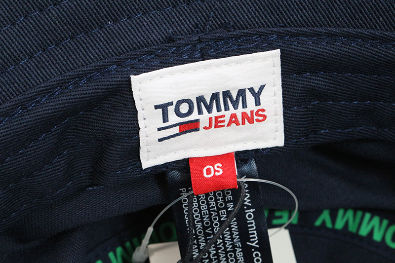 """TOMMY JEANS トミージーンズ 帽子 ハット """"TJW FLAG BUCKET"""" AM0AM07173"""