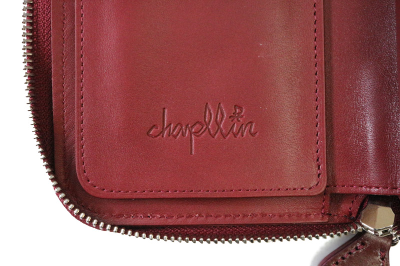 chapllin チャップリン  ウォレット  BRIDLE LEATHER   CPW-RZM-BRIDLE-VINO
