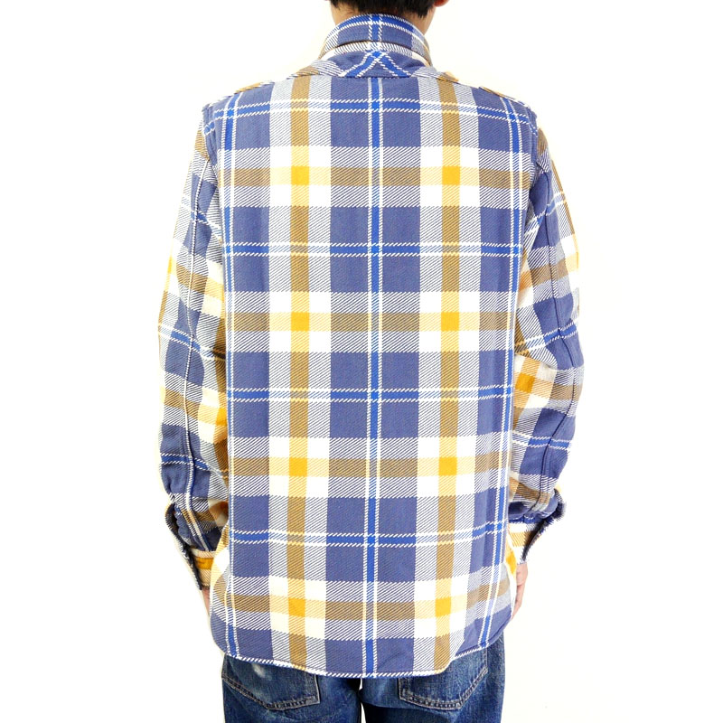 "FULLCOUNT フルカウント シャツ ""SOUTHER"" 4021-1"