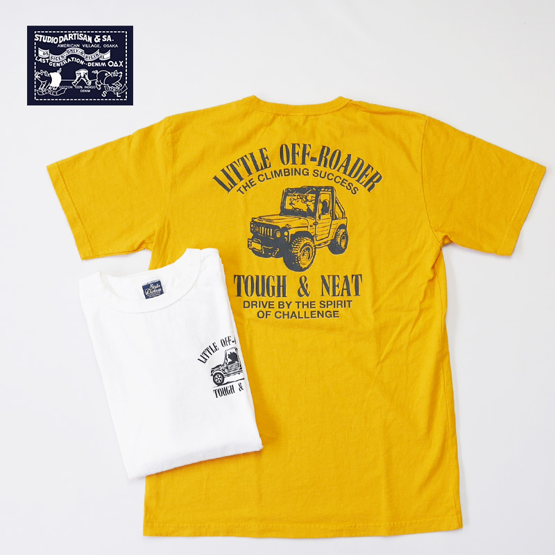 STUDIO D'ARTISAN ステュディオ・ダ・ルチザン 半袖Tシャツ USAコットンプリントTシャツ 8042B