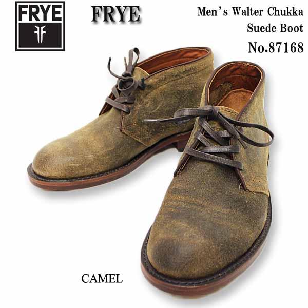 【送料無料】 FRYE(フライ) ブーツ Men's Walter Chukka Suede Boot 87168