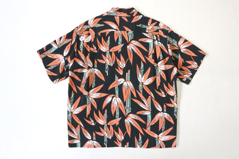 "SUN SURF サンサーフ 半袖 アロハシャツ S/S RAYON HAWAIIAN SHIRT ""SCENERY OF BAMBOO"" SS38577"