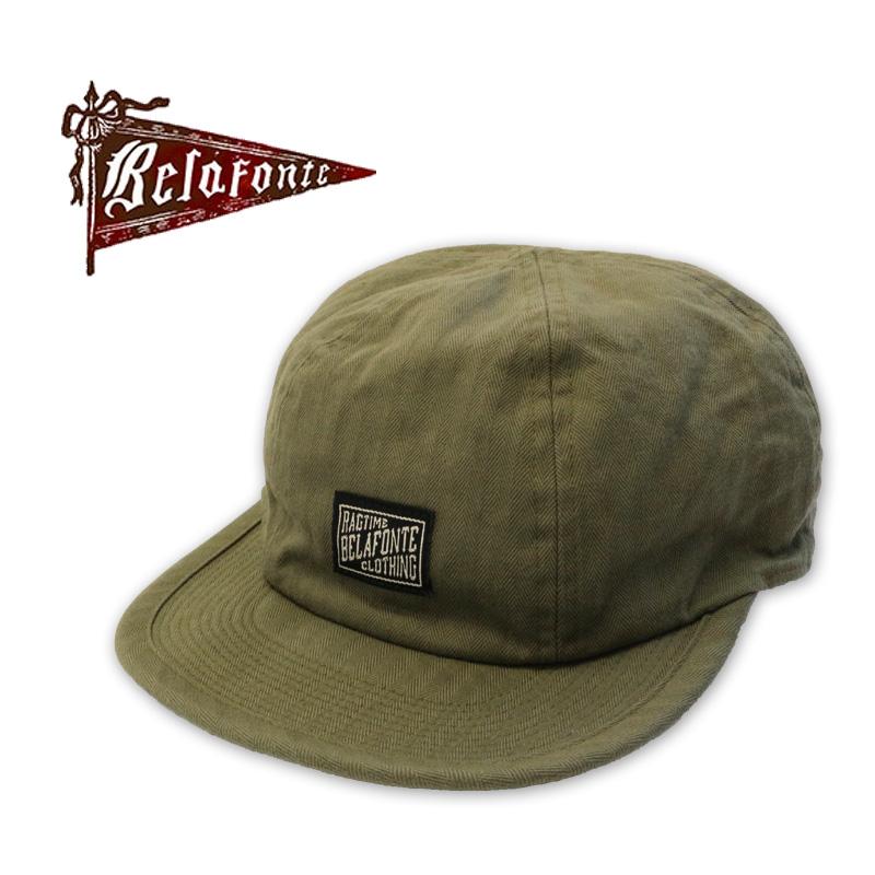 "BELAFONTE ベラフォンテ キャップ ""RAGTIME CHOPPAR CAP"" BF-20-026"