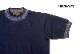 "Nigel Cabourn ナイジェルケーボン 半袖 Tシャツ ""JACQUARD NECK"" 80400021005"