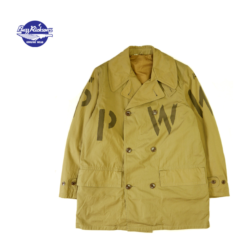 "BUZZ RICKSON'S バズリクソンズ  フィールドジャケット  TYPE M-1943  MACKINAW,O.D. ""PW""STENCIL  BR14675"