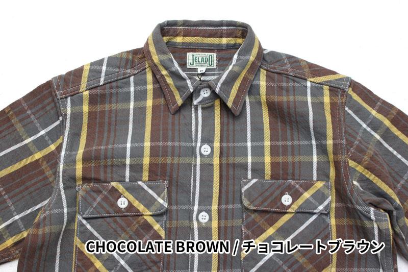 "JELADO ""STANDARD COLLECTION"" Unionworkers Shirts Short Length JP42133"